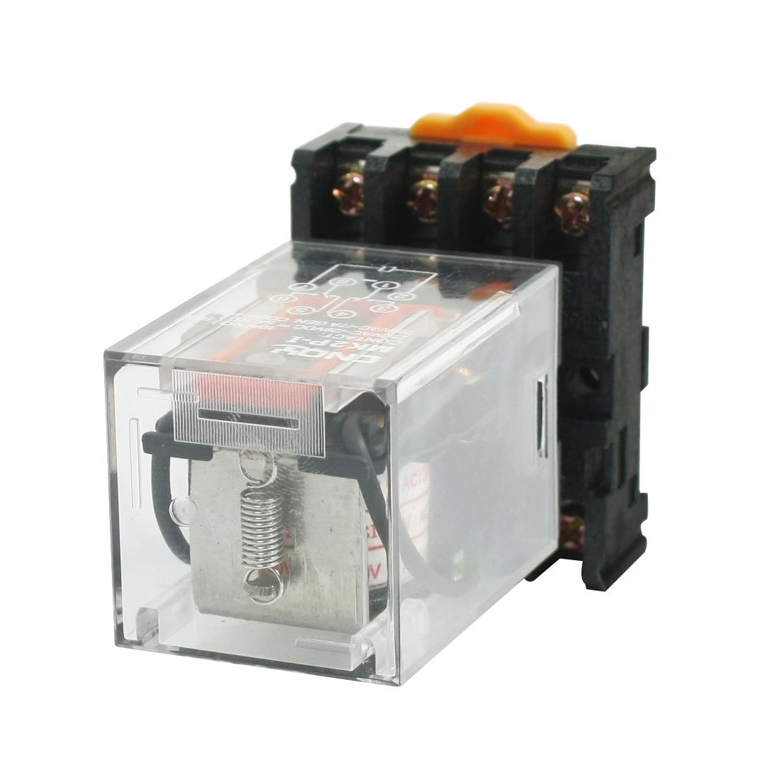 Uxcell a14011500ux0361 MK2PI DPDT Power Relay with Plugin Terminal