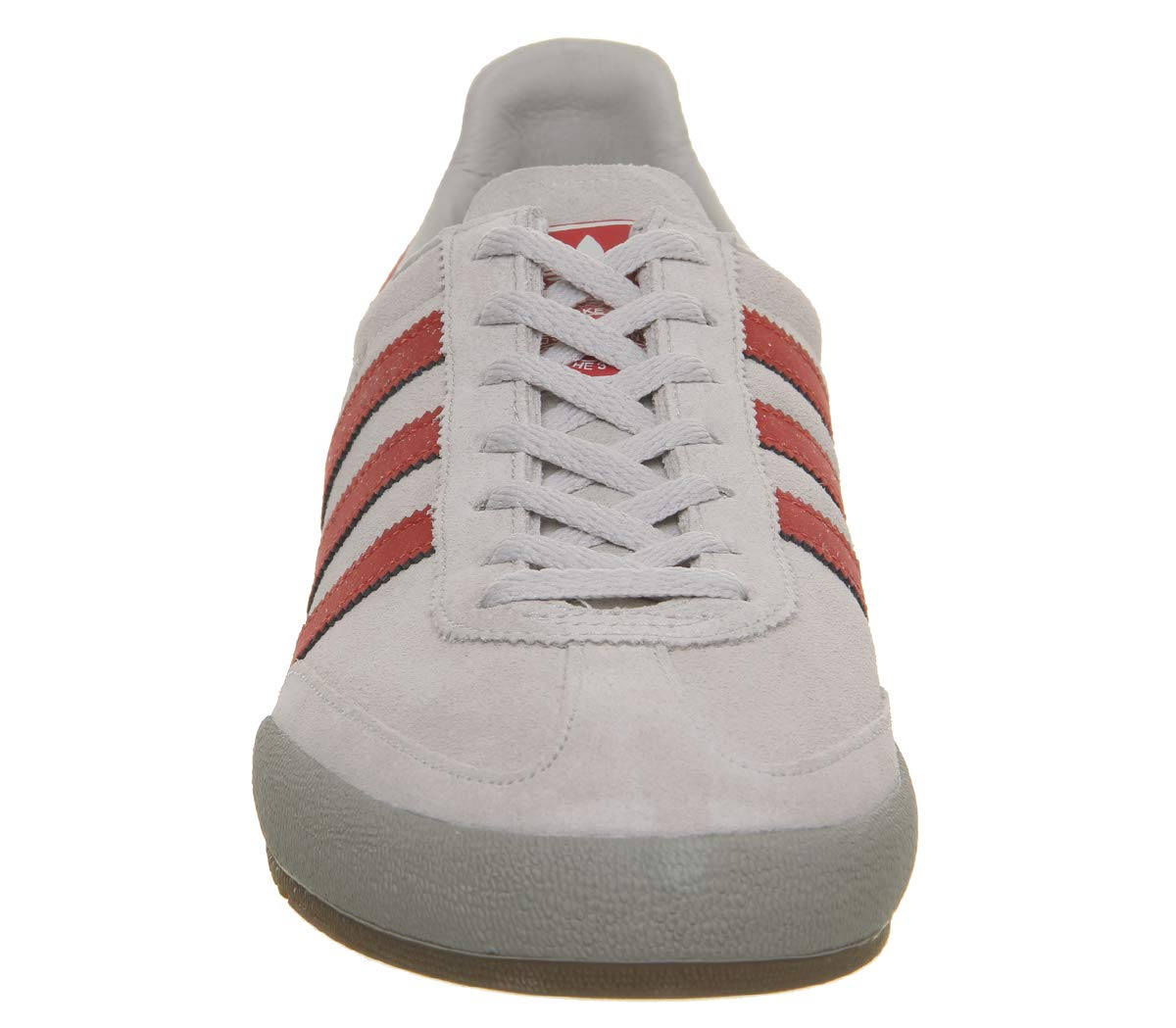 adidas Originals Jeans Sneaker Herren hellgraurot, 9.5 UK