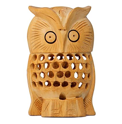 Charmant Today Sale   4u0026quot; Owl Figurines U0026 Statues   Handcrafted Wooden Sculpture  Of Mother Owl