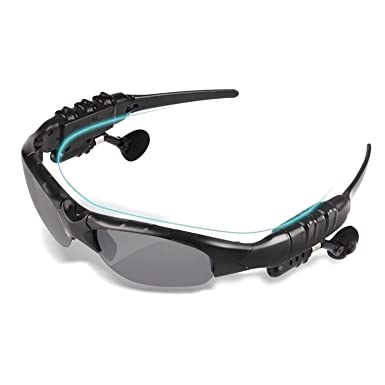 WwWSuppliers Bluetooth Sports Sunglasses Universal Apple iPhone Samsung Galaxy Sony LG HTC Android Music & Talk