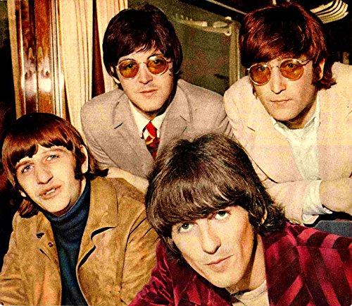 8 x 10 Iron On Beatles Color Iron On   B07483SJ2B