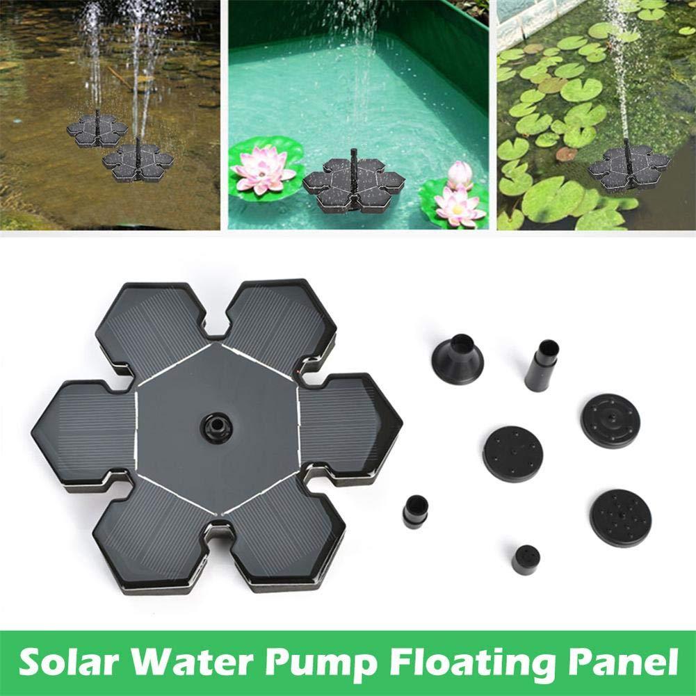 Adecuado para Fuentes acuarios Knowled 7V // 1.4W Bomba de Agua Brushless DC Bomba de Agua Sumergible peque/ños estanques etc. Bomba de Agua Solar Panel Flotante