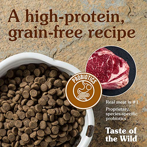 Taste Of The Wild Grain Free High Protein Dry Dog Food High Prairie