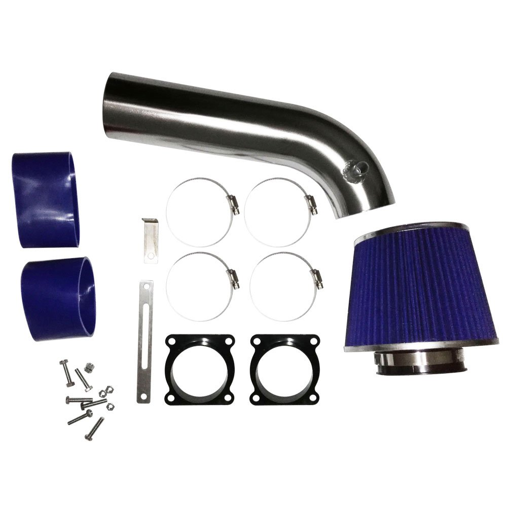 G35 3.5L V6 Blue Performance Cold Air Intake Kit With Turbine Filter for 2003 2004 2005 2006 Nissan 350Z /& Infiniti FX35