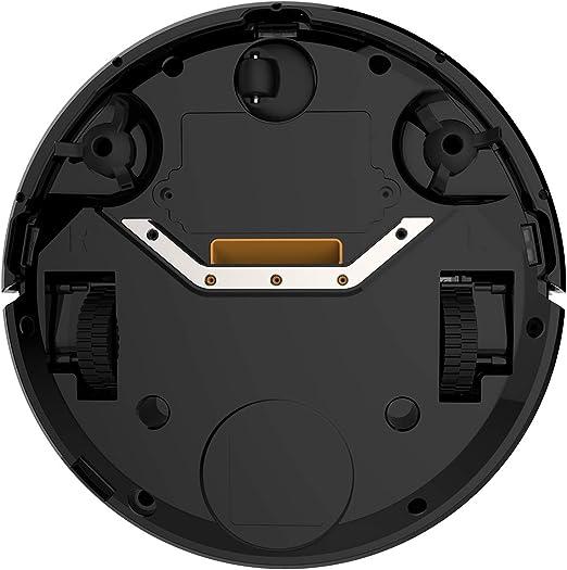 CITYSPORTS Robot Aspirador Aspiración Potente,Limpieza Automática y Remota,Sensor Inteligente de Detención de Caídas,Filtros HEPA,Excelente contra el Pelo Animal (Black-1): Amazon.es: Hogar