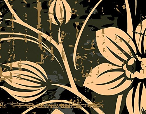 Apalis 67513/ /Appendiabiti da Parete con Motivo Floreale 139/x 46/cm
