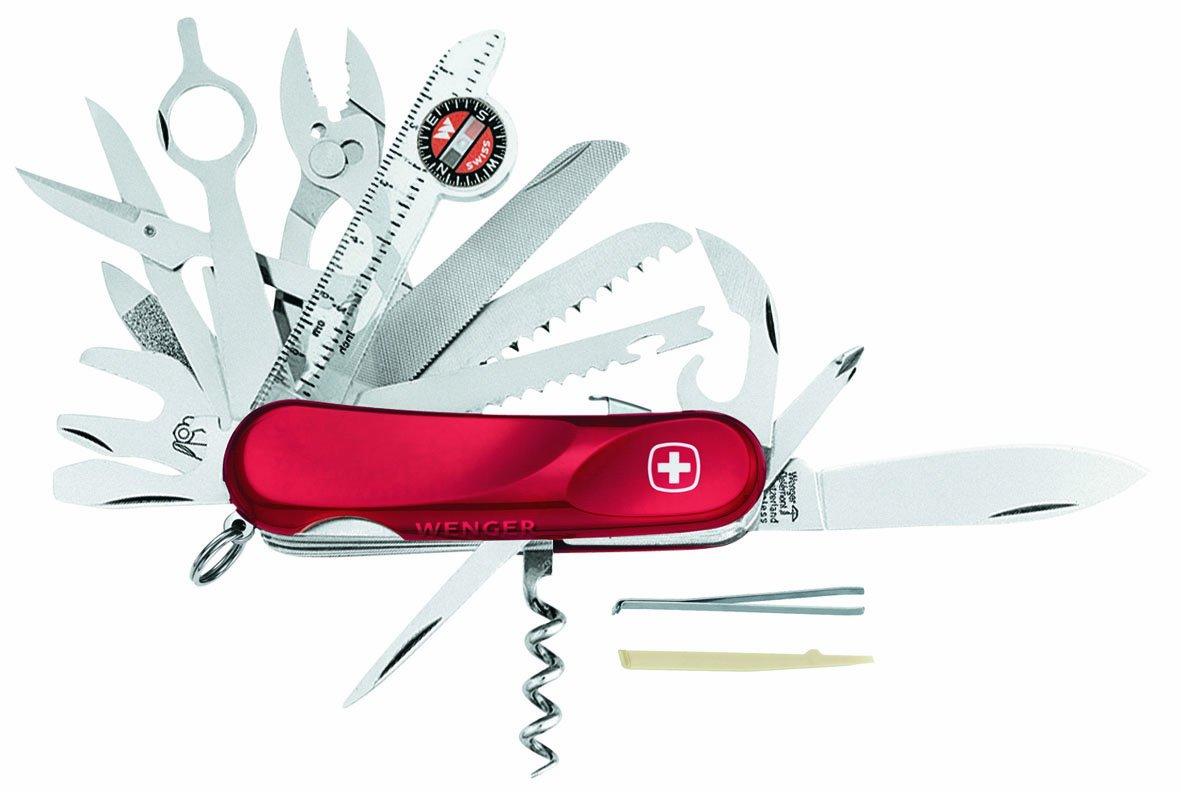 Wenger Taschenmesser Schweizer, rot, 10.0954.00