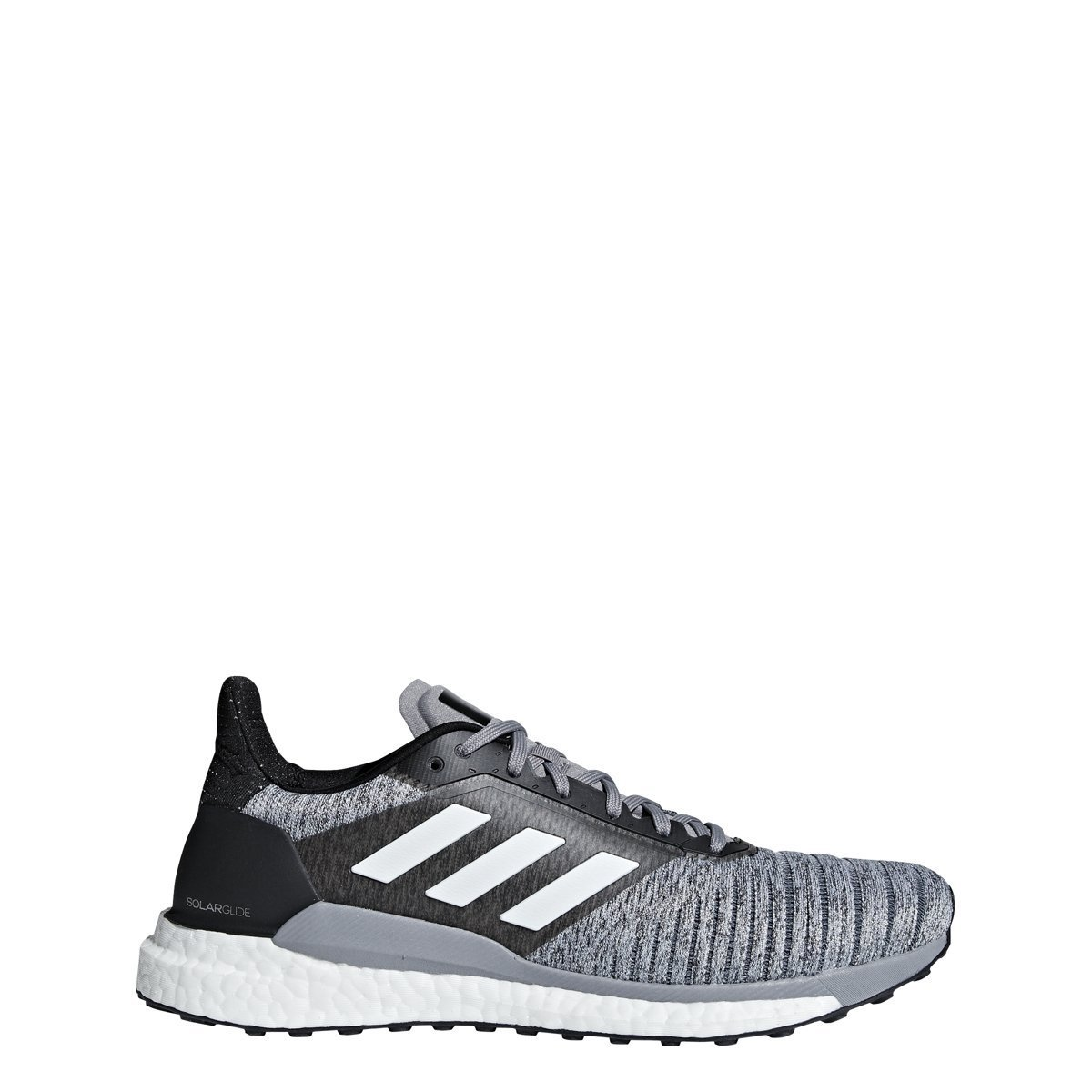 adidas Originals Men's Solar Glide Running Shoe B07B8MBLG1 10.5 D(M) US|White/White/Black