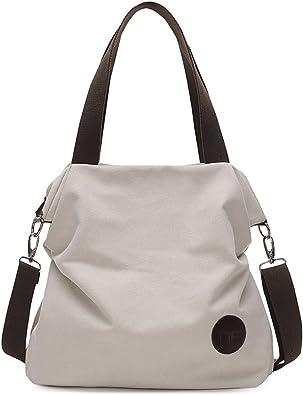 Fashion Women Canvas Print Handbag Casual Messenger Shoulder Bag Tote Purse Lot