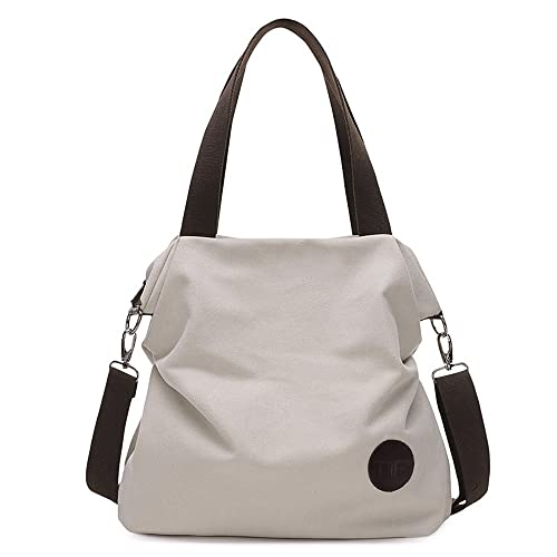 Mfeo Womens Casual Canvas Shoulder Bags Messenger Bags Crossbody Bag Tote  Bags Handbag  Handbags  Amazon.com fe345cec9a090