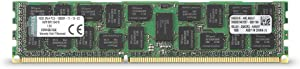 Kingston Technology ValueRAM 16 GB 1600MHz DDR3 (PC3-12800) ECC Reg CL11 DIMM DR x4 Server Memory KVR16R11D4/16