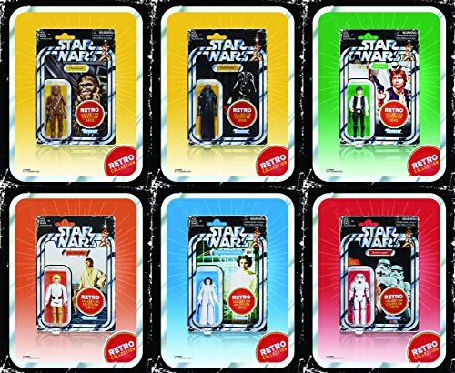 Star Wars Retro Collection Episode IV: A New Hope Action Figure Set of 6