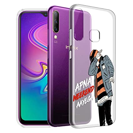 Nainz Weekend''Infinix S4 Back Case Cover Shock: Amazon in
