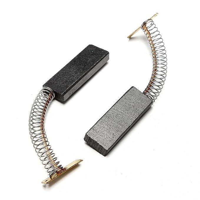 Amazon.com: 2pcs Lavadora cepillos de carbono para Bosch ...