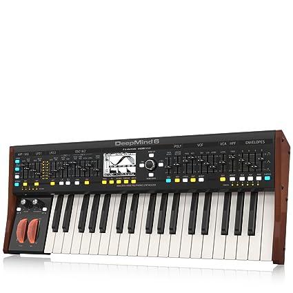 Amazon.com: Behringer deepmind 6 Clave Voz Analog polifónico ...