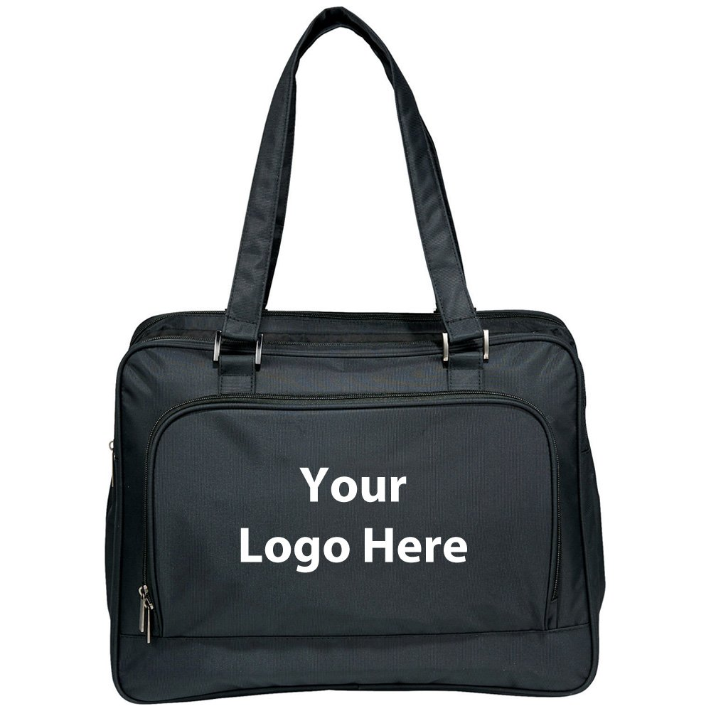 Fine Society 5 In 1 Office Home Tote - 12 Quantity - $55.20 Each - PROMOTIONAL PRODUCT / BULK / BRANDED with YOUR LOGO / CUSTOMIZED