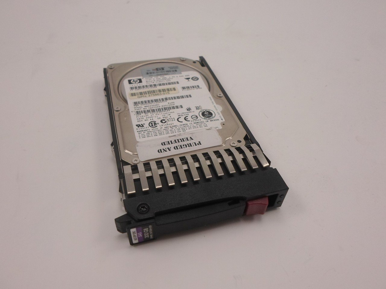 HP 518011-002 507284-001 507127-B21 300GB SAS 6G 10000 RPM 16MB 2.5 Dual Port Hard Drive by HP