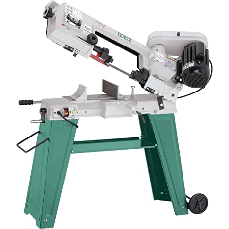 grizzly horizontal bandsaw. grizzly g0622 metal-cutting bandsaw, 4 x 6-inch horizontal bandsaw