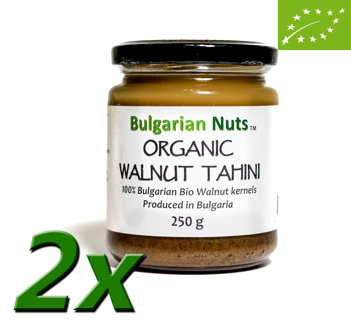500 g Manteca de nuez orgánica/Tahini - Bulgarian Nuts®: Amazon.es: Alimentación y bebidas