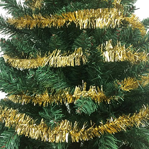 100 FT Commercial Length Christmas Garland Classic Christmas Decorations, Gold by Christmas Elegance (Image #1)