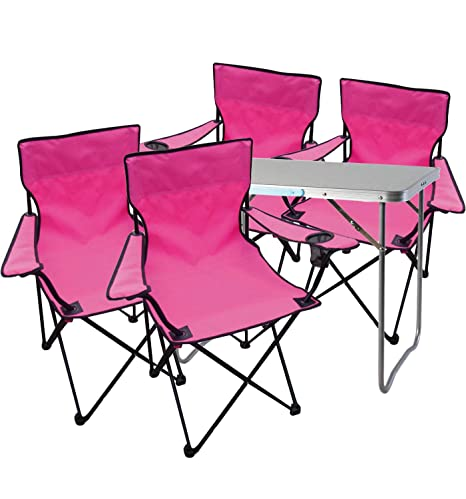 Mojawo - Multistore 2002 - Juego de Mesa y sillas de Camping ...