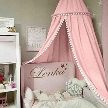 Baby Bedding Steel Baby Bed Eco-friendly Canopy Bedcover Round Mosquito Net Curtain Bedd Keeps Out Mosquitoes Clothes To Rank First Among Similar Products Crib Netting