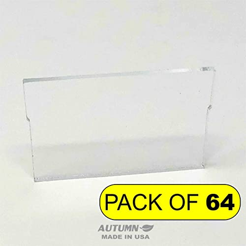 ChinRestPaperSource Dividers for Plastic Storage Hardware Cabinet with Small Drawers, Designed to Replace Akro-Mils 40716, Pack of 64 Small Drawer