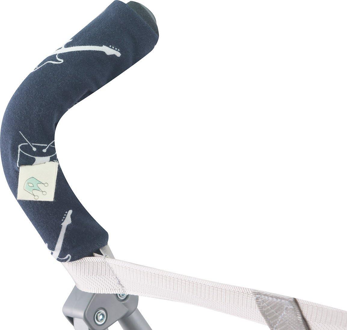 JANABEBE Funda para manillar BLACK RAYO mango de silla de paseo