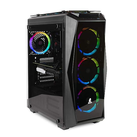 NITROPC - PC Gamer Extremo *Rebajas* (Intel i7: 8/8 x 4,70 GHz (Turbo), Nvidia RTX 2070 8GB, 2Tb, Ram 32 GB + Windows 10*)