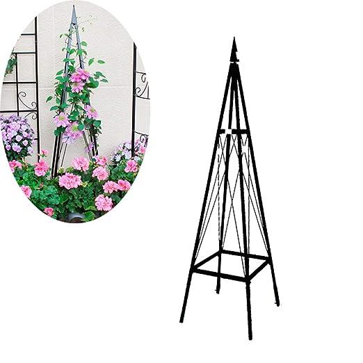 CJSWT Soportes para Plantas en Maceta Plantas, Torre obelisco ...