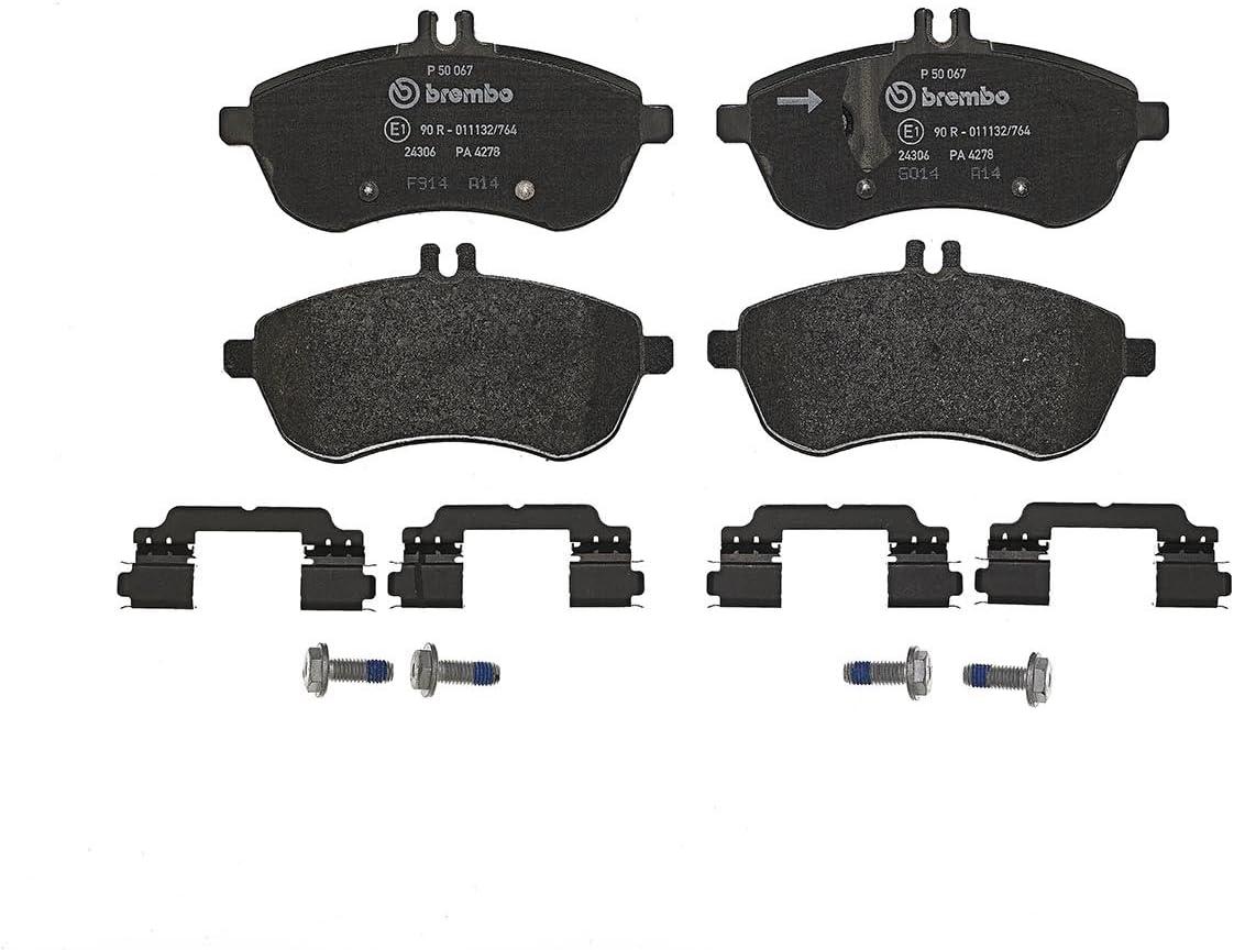 Set of 4 Brembo P24061 Front Disc Brake Pad