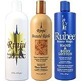 Rinju Body Hand Lotion & Beaute Reele & Rubee Beauty Magic 16oz (Set)