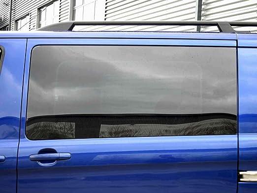 Mano izquierda, tintado oscuro fijo ventana para puerta corredera kit Ford Transit Custom: Amazon.es: Coche y moto