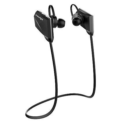 Esonstyle Auriculares Bluetooth 4.1 Cascos Inalambricos Deportivos In-ear con Micrófono / Manos Libres,
