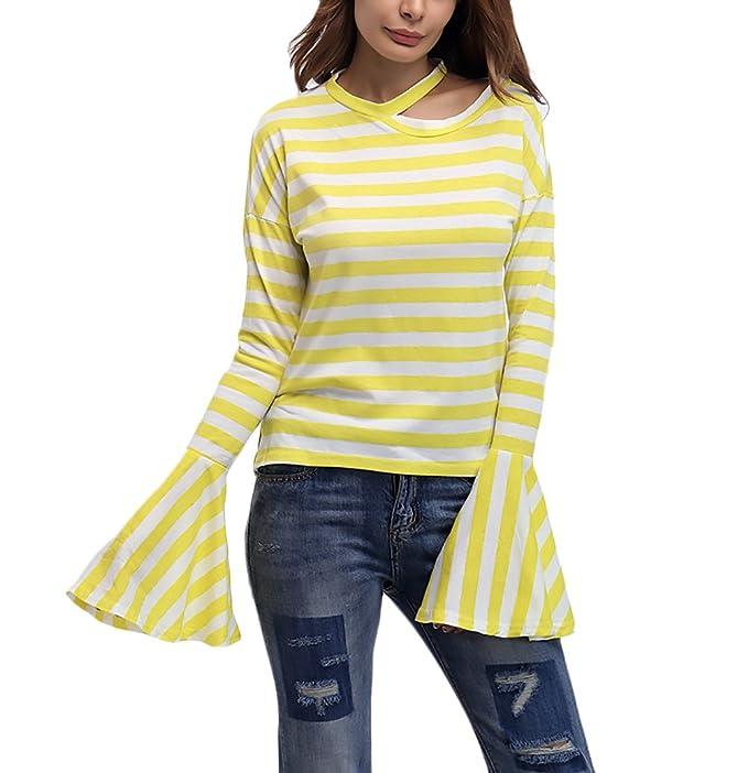 a2747ca23ec7 Damen Blusen Elegant Herbst Winter T Shirt Festlich Langarm Bluse ...