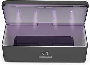 UV Light Sanitizer, Phone Sanitizer UV Box   UV Sterilizer Box for Smartphone   Clinically Proven Kills Germs Viruses & Bacteria UV-C Light Disinfector 2021 New Gift for Family Men