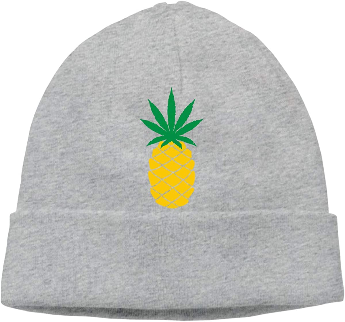 Helidoud Neon Palm Trees Winter Beanie Hat Knit Skull Cap for for Men /& Women