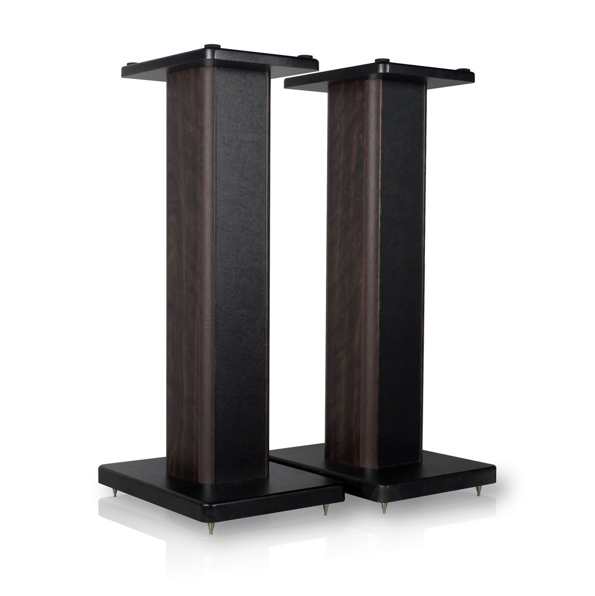 minify BS-S8 – 1 pair of MDF box speaker stands – ideal for boxes with wood décor BS-S8-60N