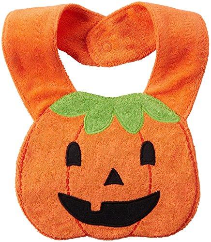 Carter's Baby Halloween Bib, Jack O Lantern, One
