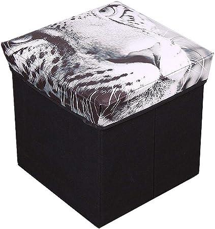KunLS Puff Almacenaje Almacenaje Ropa Cajas De Almacenaje Cajas Organizadoras Ropa Puf Taburete De Almacenamiento Puff Almacenaje Pie Taburetes 1: Amazon.es: Hogar