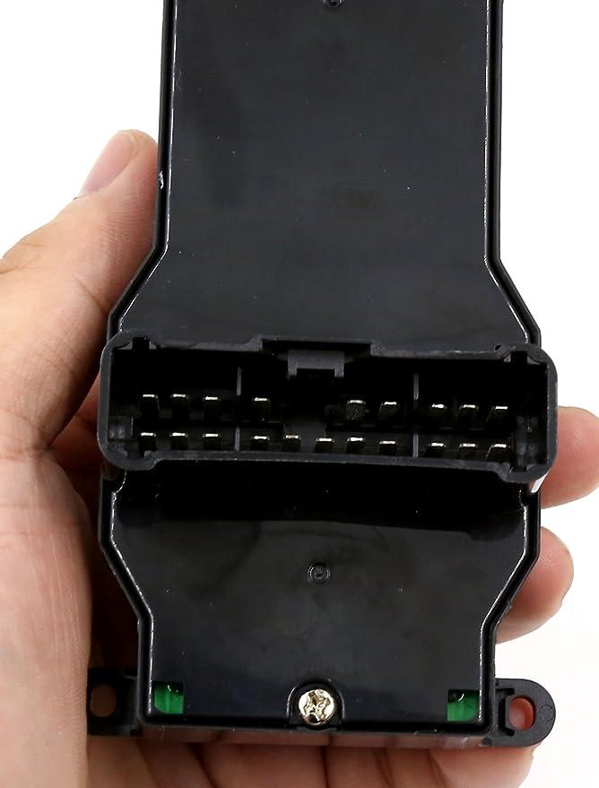 sourcingmap 35750-S9A-G04 Interruptor Consola para Coche20 Pines Botonera