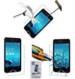 Acm Tempered Glass Screenguard For Asus Zenfone 4 A400cg Mobile Screen Guard Scratch Protector