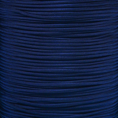 PARACORD PLANET 550 Cord Type III 7 Strand Paracord 1000 Foot Spool - Midnight Blue