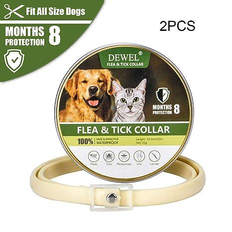 UTOPIAY Collar antipulgas y de garrapatas para Perros y ...