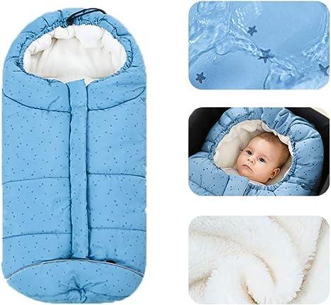 Saco de dormir para bebés manta para edredones de bebé interior de lana de coral al