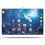 YUNTAB(JP)10.1インチタブレットPC 10.1 inch tablet pc Android 5.1クアッドコア 1280*800 IPSタッチスクリーン  デュアルカメラ/GPS/Bluetooth/WIFI  通話機能付き (白)
