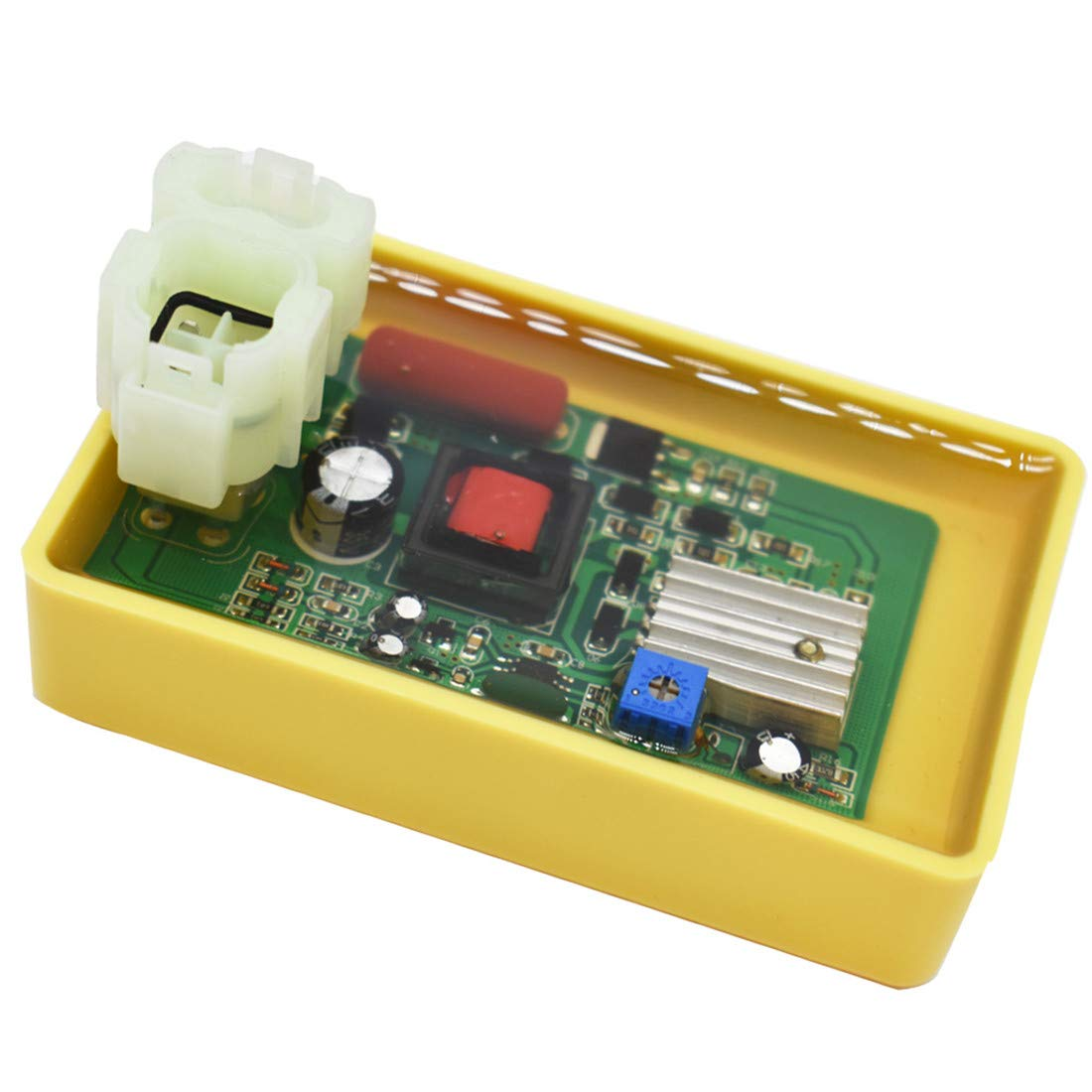 WFLNHB 6 Pin DC CDI Box Fit for GY6 Performance 50cc 125cc 150cc 250cc Moped Scooter ATV Go Karts