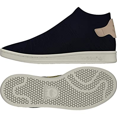 factory price bb717 ce213 adidas Stan Smith Sock PK W, Chaussures de Fitness Femme, Bleu Tinley Percen