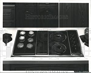 Historic Images - 1989 Press Photo Appliances-36-Inch Electric Modular KitchenAid Cooktops