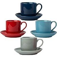 Comfify Juego de 4 Tazas para Espresso